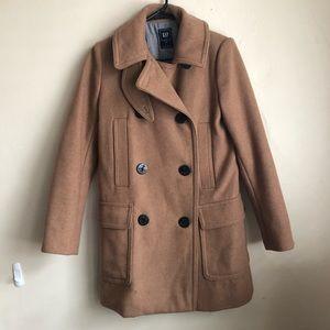 GAP Camel Pea Coat
